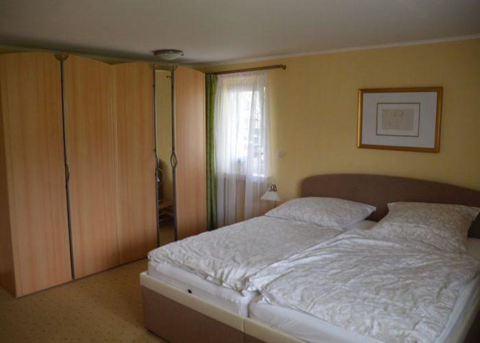 Ostseeappartements grosses Schlafzimmer