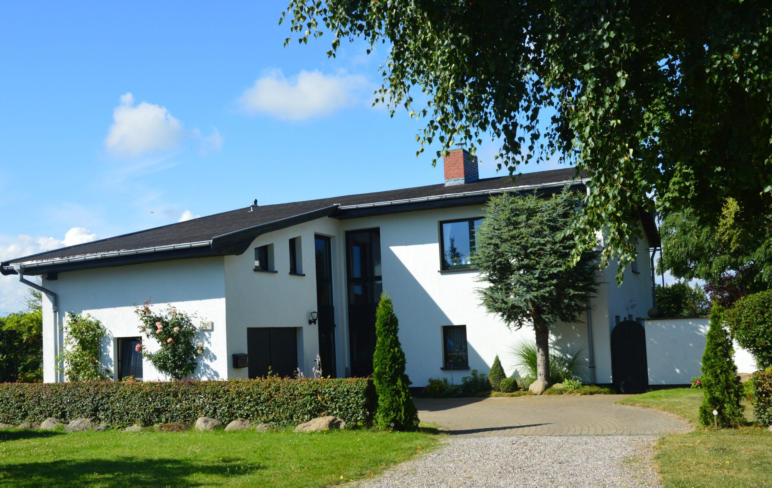 Ansicht Haus Ferienwohnung schöne Ostsee